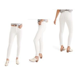 """Madewell 9"""" inch High Rise Skinny Jeans"""